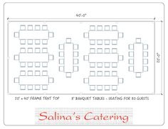 Curious on how to best arrange your tables for your 20X40 tent? Wonder no more  sc 1 st  Pinterest & Seating arrangements for a 20x40 ft tent | All things wedding ...