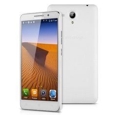 "Lenovo A616 Lte 4G - Smartphone Movil Libre Android 5.5"" (Dual Sim, IPS Pantalla Tactil, Quad Core, 4Gb Rom, 5Mp Cámara, GPS APK WIFI, Multi-Idioma), Blanco"