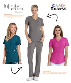 9958beb23d1 Today's Outfit of the Day features Infinity Scrubs by Cherokee Uniforms! # OOTD #Fashion