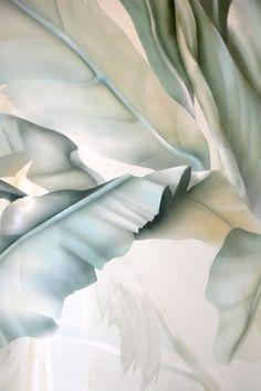 mural portfolio 2013 by zebo ludvicek, via Behance Wallpaper Backgrounds, Iphone Wallpaper, Pastel Wallpaper, Screen Wallpaper, Wallpaper Quotes, Green Texture, Flower Texture, Watercolor Texture, Textured Background