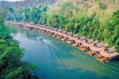 River Kwai, elefantpasser og badeferie på Koh Kood