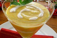 Fruchtig leckere Mangocreme