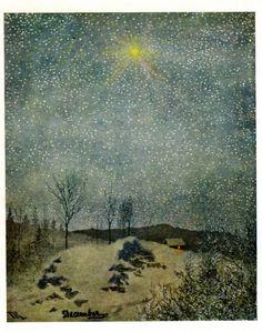 "Theodor Severin Kittelsen - December - 1890 """