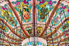 I love love LOVE merry go rounds and am almost always impressed when I see the images on them (with the exception of those cheap-y traveling carnival merry-go-rounds)