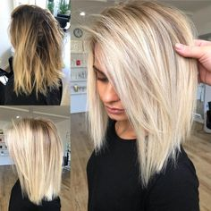 "Balayage inspo. Hottes Hair on Instagram: ""WOW now that's what I could AH-MAZING RECIPE: Full Head Foils using @lakmecolour k.blonde…"" #shorthairstylesbob"