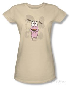 Juniors: Courage The Cowardly Dog - Monsters Shirts at AllPosters.com