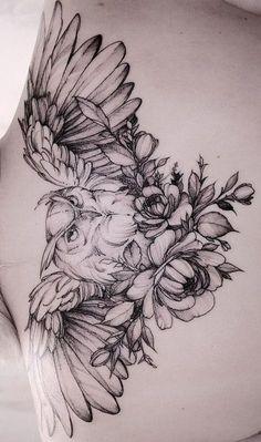 As 200 Melhores Tatuagens de Coruja [Femininas e Masculinas] | TopTatuagens