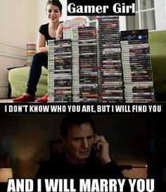 Finding A Gamer Girl Be like. http://ift.tt/2ogKKT4