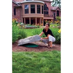 Decorative Septic Tank Cover Rock Dekorra Model 111 Fake You Deck And Backyard Landscaping Pinterest Covers