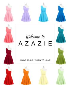 Based in San Francisco, Azazie is the only online bridal boutique offering 500+ styles, 30+ colors, sizes 0-28W and custom size - Your Style, Your Color, Your Size. Find more at www.azazie.com.