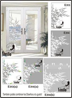 Vidrios esmerilados para puertas principales buscar con - Vinilos decorativos para vidrios ...