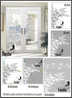Vinilos on pinterest wall decal frases and wall stickers - Vinilos decorativos vidrio ...