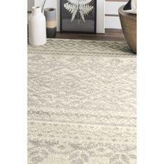 Safavieh Adirondack Southwestern Ivory / Silver Large Area Rug (10' x 14') | Overstock.com Shopping - $290