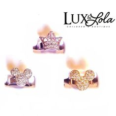 Girls rings. #jewelry #accessories #fashion #fashionkids #kidsfashion #girls #instagood