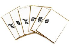 this set of 12 cards features tiny woodland animals  www.mooreaseal.com