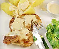 Filet mignon de porc au Camembert Cœur de lion