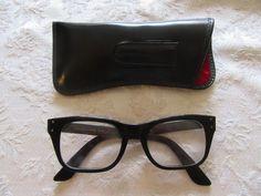 Vintage B&L Bausch & Lomb Safety 50  20 Eyeglasses #BauschLomb #Casual