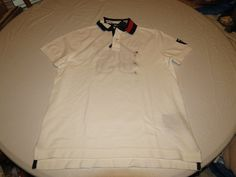 Mens Tommy Hilfiger Polo shirt XL 7880978 Snow White 118 Classic Fit NEW #TommyHilfiger #polo