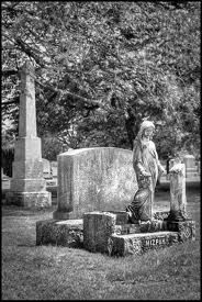 old cemetery angel
