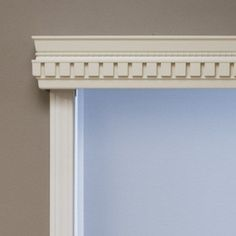Wood Cornices come in eight standard colors and six hand-crafted styles. Each is carved from American basswood. Custom colors and stains are available if the standard colors do not suit your needs. Wooden Cornice, Cornice Box, Wood Valance, Window Cornices, Cornice Boards, Window Coverings, Window Treatments, Plywood Furniture, Hollywood Regency