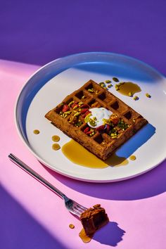 Sexy times call for sexy food, and these waffles are just what you need to get randy.