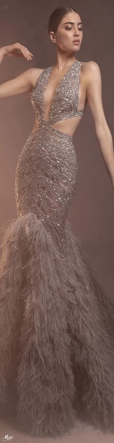 Couture Fashion, Fashion Show, Fashion Design, Zuhair Murad, Couture Collection, Catwalk, Ball Gowns, Ready To Wear, Women Wear