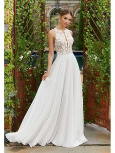 e867f1320f4b 113 Best A Line Style Wedding Dresses images in 2019