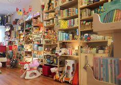 L'Envie de Fraises, boutique de jouets pour enfants basée à Genève.