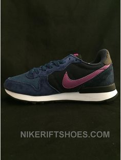 watch 5a54a a6fc1 2015 Hot Nike Internationalist Running For Womens On Sale Navy Blue White  New, Price   85.00 - Nike Rift Shoes