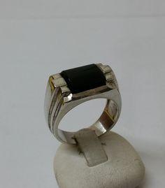835er+Silberring+mit+Onyx++18,7++Silberring+SR444+von+Atelier+Regina++auf+DaWanda.com