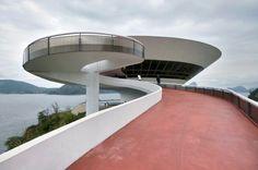 Museu de Arte Contemporanea, Niteroi, Rio de Janeiro  Museum of Contemporary Art  Architect: Oscar Niemeyer, 1996