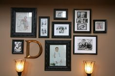 I have always loved photo gallery walls. They are a perfect fit for me as a scrapbooker and the theory I whole-heartedly subscribe to that if one photo is good, many are fabulous! I thought I'd join the Gallery Wall Party over at the Inspired Room and re-post the story behind my photo gallery wall. …