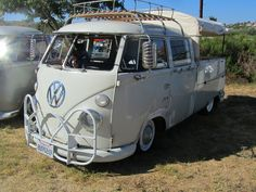 VW Double Cab with nice front guard