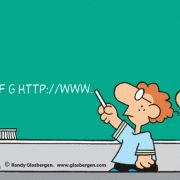 Education Cartoons: cartoons about teachers, school cartoons, classroom humor, cartoons about homework, classes, lessons, students, class assignments, learning, chalk board, alphabet, kindergarten, young students, ABCDEFGHTTP://WWW