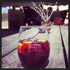 All you need is our PDX Spiced red wine and orange drink. #wine #sangria #drink