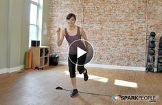 10-Minute Jump Start Cardio Workout Video via @SparkPeople