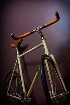 Cream bike...I like