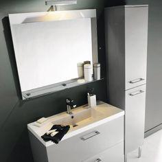 Miroir Clairant Mica 60 Cm Gris