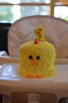 First Birthday Chicken Cake
