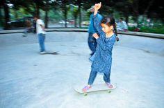 Giving Afghan kids a skating chance. @meetinglife