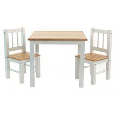 Kindertafel en stoeltjes Niels - Kindertafel en stoelen - Kindermeubels | Baby & Kids online - 2de keuze
