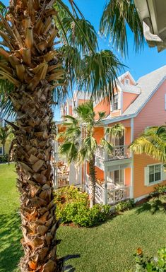 Tropical guest accommodations at Valentines Resort, Harbour Island, Bahamas