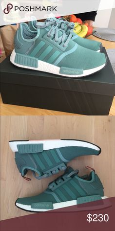 Adidas NMD Brand new! Bought through Adidas! Size 7 but fits 7.5 women's Adidas Shoes Athletic Shoes