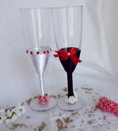 Beautiful Wedding Champagne Gles In By Magicaliidecorations
