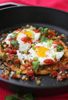 Huevos Rancheros - I would eat this for breakfast every day!