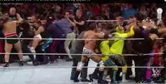 مصطفـــــــــــى   محمـــــد: ( أخبار رياضية مصارعة حرة)Brock Lesnar confronts T...