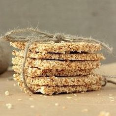 #223883 - Sesame Cookies with Honey and Amaranth Recipe