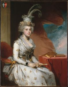 Matilda Stoughton de Jaudenes, 1794. Gilbert Stuart