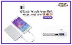 Mi 5000mAh Potable Power Bank, Temperature Resistance, Short-circuit protection,Input Over-Voltage Protection and more...