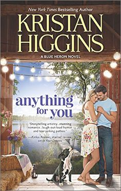 """Unlike some readers who have been hung up on Connor O'Rourke since he was first introduced in the Blue Heron series, it was the heroine of """"Anything for You"""" that caused me to truly fall in love with it."""